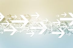 Abstract Arrows Background Royalty Free Stock Images