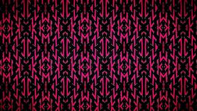 Abstract Arrows black and red pattern. Stock Photography
