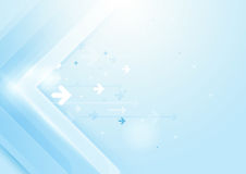 Abstract arrows technology concept background Royalty Free Stock Image