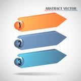 Abstract arrows vector Royalty Free Stock Photos