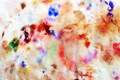 Abstract art. Abstract mixed oil paint background Stock Photos