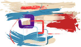 Abstract art. Vector Abstract modern art illustration. (EPS10 file included Royalty Free Stock Photography