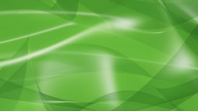 Abstract Art. 3D abstract art with green color and white specularity Royalty Free Stock Images