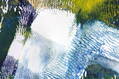 Abstract art background. Paper and acrylic Royalty Free Stock Photos