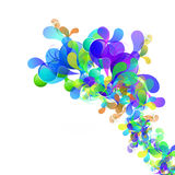 Abstract art background. Color abstract art background card Royalty Free Stock Photography