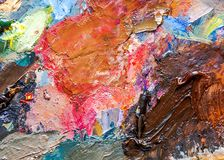 Abstract art background Acrylic painting on canvas stock photography