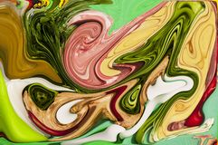 Abstract art background. Of different shapes Stock Photography
