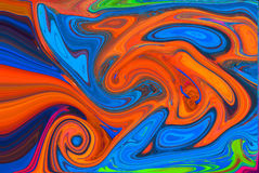 Abstract art background. With different shapes Royalty Free Stock Photos