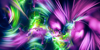 Art fractal background Royalty Free Stock Image