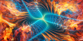 Abstract art background. Abstract art fractal background design royalty free illustration