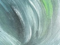 Abstract art background green and blue color. Multicolor oil painting on canvas. Fragment of artwork. Texture backdrop Royalty Free Stock Images