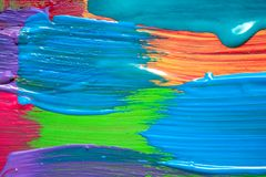 Abstract art background. Hand painted. Stock Images