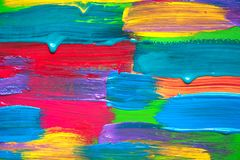 Abstract art background. Hand painted. Stock Image