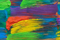 Abstract art background. Hand painted Stock Photography