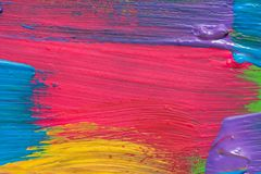Abstract art background. Hand painted Stock Photo