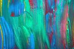 Abstract art background. Hand painted. Stock Photos
