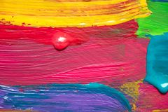 Abstract art background. Hand painted. Royalty Free Stock Images