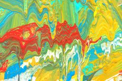 Abstract art background. Hand painted. Royalty Free Stock Image