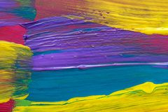 Abstract art background. Hand painted Royalty Free Stock Images