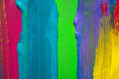 Abstract art background. Hand painted Royalty Free Stock Photography
