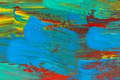 Abstract art background. Hand painted Royalty Free Stock Image