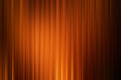 Abstract art background ,orange gold drape cinema motion style Stock Images