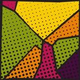 abstract art background pop Στοκ εικόνα με δικαίωμα ελεύθερης χρήσης