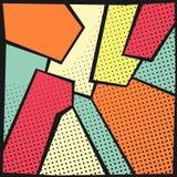abstract art background pop Στοκ φωτογραφία με δικαίωμα ελεύθερης χρήσης