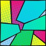 abstract art background pop Στοκ εικόνες με δικαίωμα ελεύθερης χρήσης