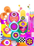 Abstract Art Background Royalty Free Stock Photos