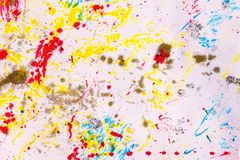Abstract art backgrounds. Hand-painted background. Paper and ink Royalty Free Stock Photo