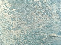 Texture of abstract art background blue color. Abstract art backgrounds blue and white colors. Multicolor oil painting on canvas. Fragment of artwork. Texture Royalty Free Stock Image