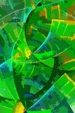 Abstract art colour backdrop (wallpaper). Royalty Free Stock Photo