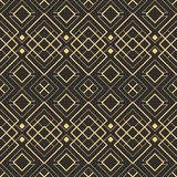 Abstract art deco seamless pattern 10. Vector modern geometric tiles pattern. golden lined shape. Abstract art deco seamless luxury background vector illustration