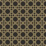 Abstract art deco seamless pattern Stock Photography