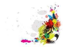 Abstract art design. Illustration abstract art design background Royalty Free Stock Images