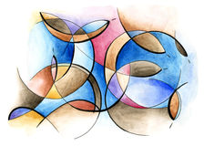 Abstract art design Stock Image