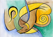Abstract art design Stock Photography