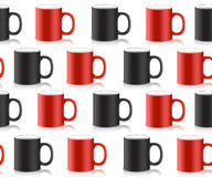 Abstract art design for print on a cup. Vector Stock Images
