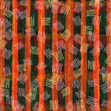 Abstract art digital oil paint green and orange wallpaper. Abstract art digital oil paint green and orange color stripe banner,template ,wallpaper background Stock Illustration