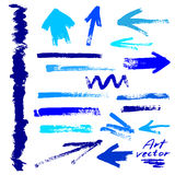 Abstract art elements Stock Image