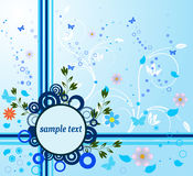 Abstract art floral vector Stock Images