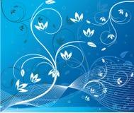 Abstract art floral vector Stock Photos