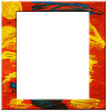 Abstract art frame Stock Images