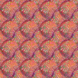 Abstract art grunge seamless pattern. Fabric texture of colorful geometric shapes. Beautiful abstract card.  Stock Photography