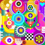 Abstract Art Illustration Royalty Free Stock Image