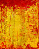 Abstract art-impasto. Abstract art - hand painted canvas Stock Images