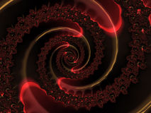 Abstract art modern background. Fractal Royalty Free Stock Image