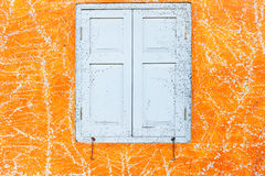 Abstract art orange cement wall texture background Royalty Free Stock Photography