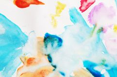 Abstract Art Paint. Background with nobody Royalty Free Illustration